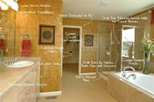 Universal Design Bathroom by Housing Options Amp Aging In Place Real Estate Assistance