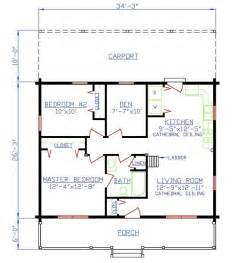 2 bedroom 1 bath house plans plan 154 00005 2 bedroom 1 bath log home plan