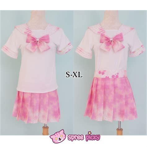 Costum Seifuku s xl exclusive custom j fashion pink sailor