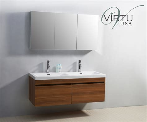 55 inch sink bathroom vanity with soft closing