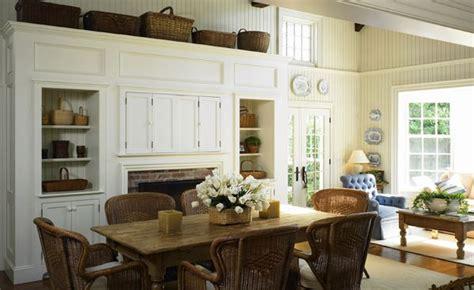 england cape  interior coastal dining room