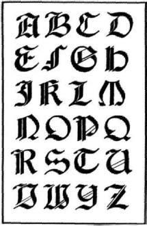 lettere tribali tatuaggi disegni lettere tribali tatuaggi
