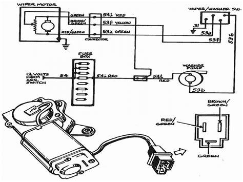 yj wiper motor wiring diagram www k