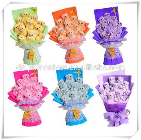 Bouquet Bunga Plastik Artificial Palsu plush soft pig type gift silk flower bouquet buy silk flower bouquet plush