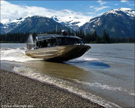 cabin jet boats jet boats run in shallow water stikine river pinterest