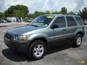 2005 titanium green metallic ford escape xlt v6 13749227