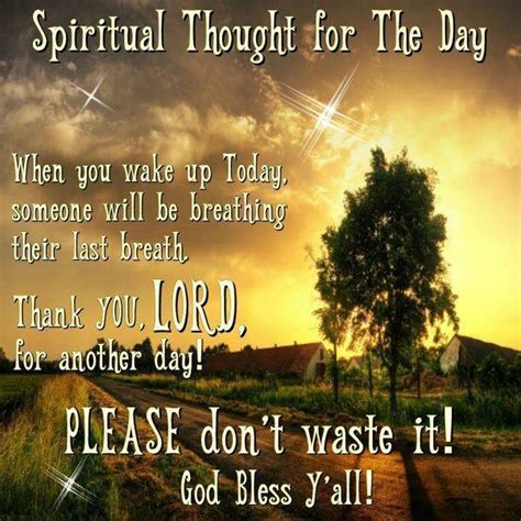 thoughts for s day spiritual thought for the day today s word