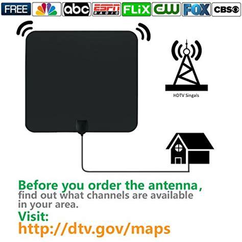 top   tv antennas  digital tv  mile range indoor    reviews  place