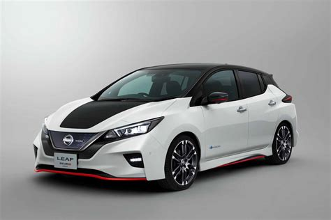 Next Nissan Leaf Nissan Leaf Nismo Concept Brings All The None Of The