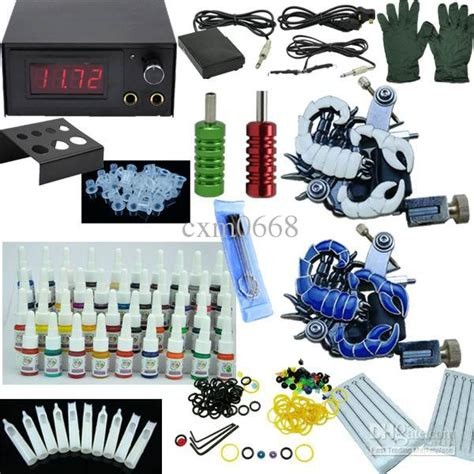 kit x tattoo complete beginner tattoo kit set tattoo kit 2 machines