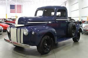 1942 Ford Truck Fathom Blue 1942 Ford For Sale Mcg Marketplace