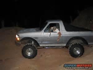 96 bronco fender cut out fender flares ford