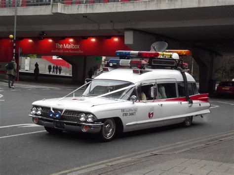 Ecto One Car by Director Of Ghostbusters Reboot Unveils New Ecto 1 Photo