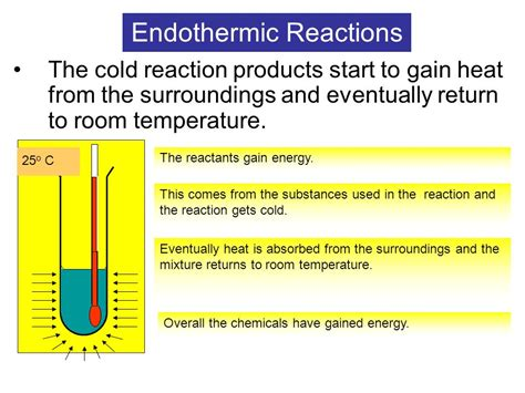 what is the definition of room temperature exothermic and endothermic reactions ppt