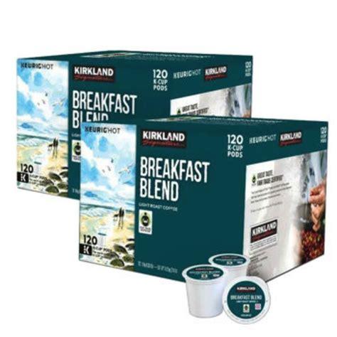 Kirkland Signature Breakfast Blend Coffee 240 K Cup Pods   eBay