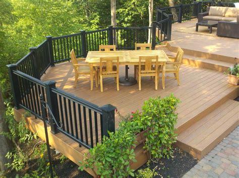 Patio Decks Images by Design Build Decks Getting Creative In Your Deck Design
