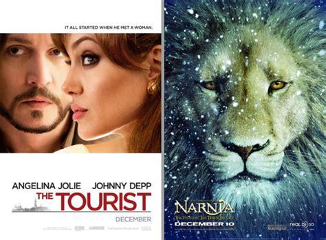 Film Narnia Ketiga | rilis bersamaan the tourist kalah dari film ketiga
