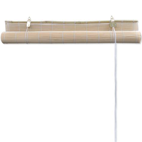 Bamboo Roller Blinds Vidaxl Co Uk Bamboo Roller Blinds 120 X 160 Cm