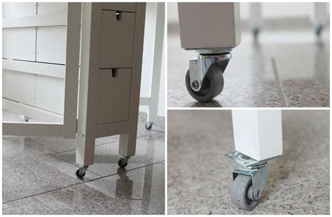 norden gateleg hack i love the idea of adding casters to the ikea norden make