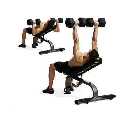 chest exercises dumbbells no bench build a bigger chest and triceps no barbell workout