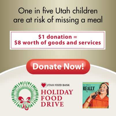 utah food bank virtual food drive  every comment counts