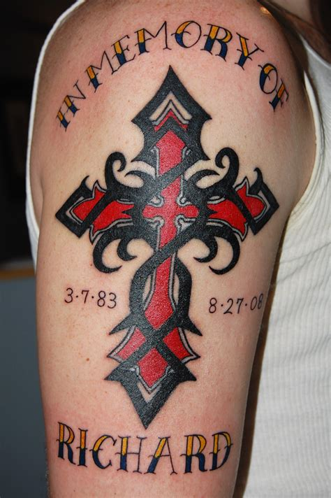 crucifix tattoo designs for men 25 best cross tattoos designs for echomon