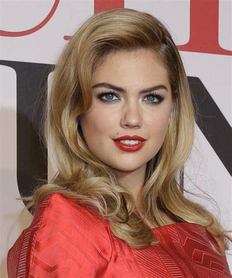 kate uptons hair colour kate upton long straight formal hairstyle medium blonde