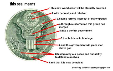 secret meaning prophecy symbolism of the dollar cambraza