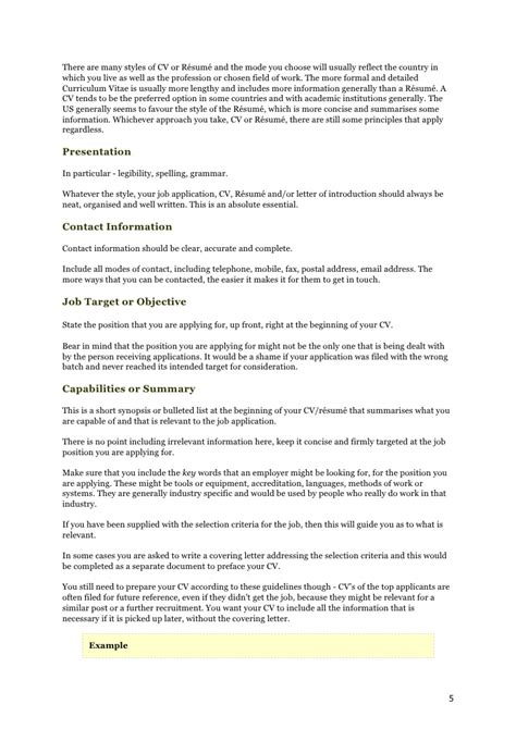 Curriculum Vitae Definition Oxford Dictionary How To Write A Killer Cv Resume