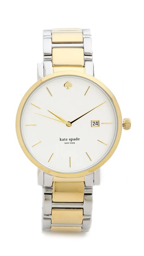 Kate Spade Two Tone kate spade new york gramercy grand two tone gold in