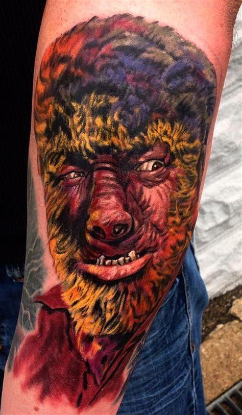 tattoo universal studios the wolf man by larry brogan tattoos