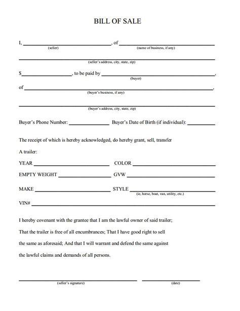 create a firearm bill of sale form legal templates