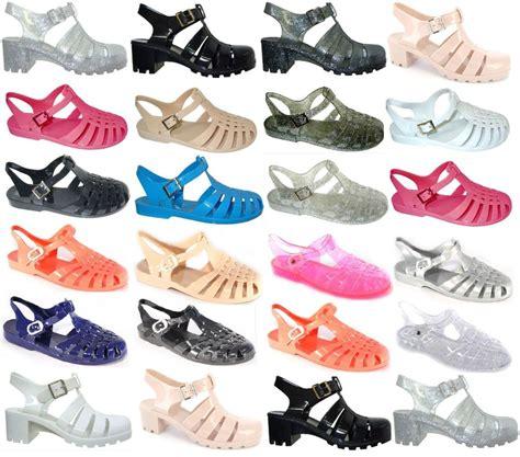 Bara Bara Jelly Shoes Flat Casual 1 womens jelly sandal flat summer retro flip flops sandals size ebay