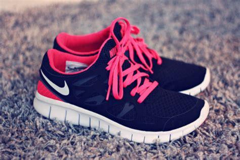 shoes nike running sportswear fitness pink black