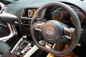 Audi Q5 Steering Wheel Anyone Do A Steering Wheel On Your Q5