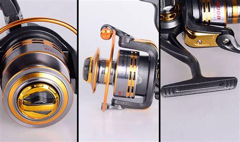 Harga Reel Pancing Laut Murah Dan Kuat debao gulungan pancing db6000a metal fishing spin reel 10