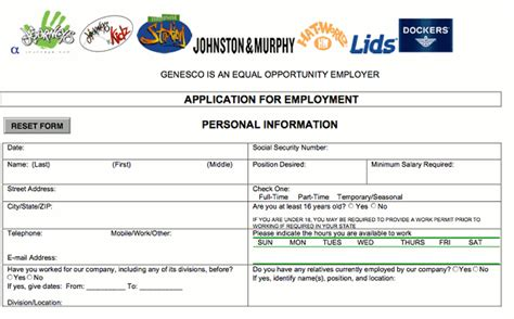 printable job application for journeys noahlancaster s blog weblogs