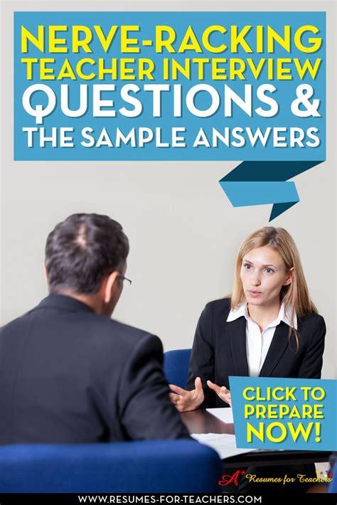 best 25 interview questions for teachers ideas on pinterest