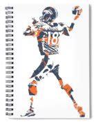 items similar to denver broncos tattoo model graphic peyton manning denver broncos pixel 7 print by joe