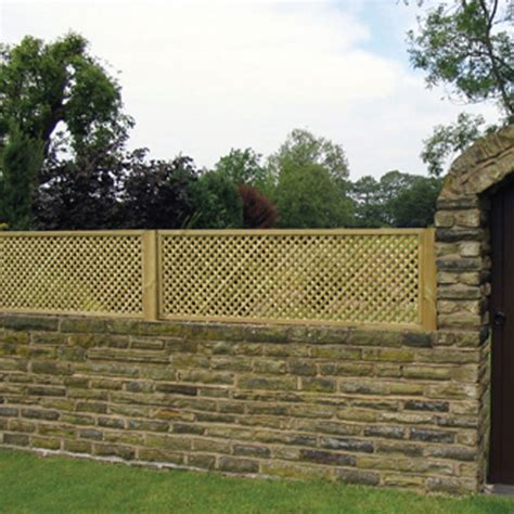 Trellis Fencing On Top Of Wall Clementine Trellis Gt Garden Panel Tate Fencing