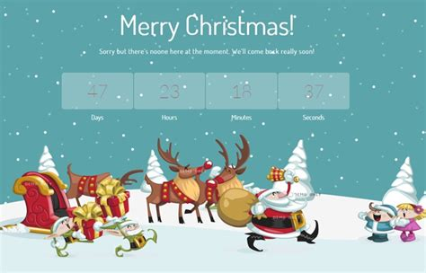 merry christmas cssreel css website awards world