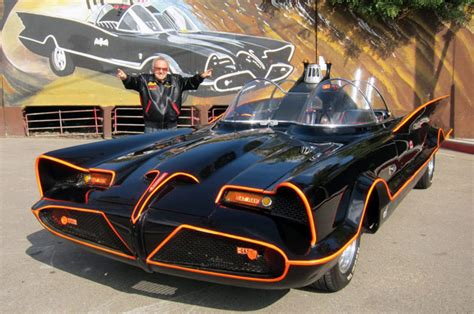 Original Batmobile Sold At Barrett Jackson by George Barris To Sell Original 1966 Batmobile At Barrett