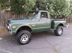 purchase used rust free ca stepside 4wd truck 69 70 71