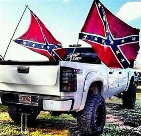 flag truck rebel flags flags and trucks on