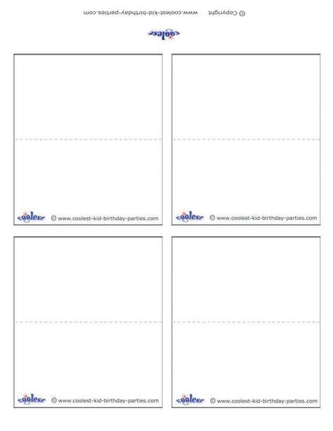 free template for place cards 6 per sheet free free place card templates 6 per page 28