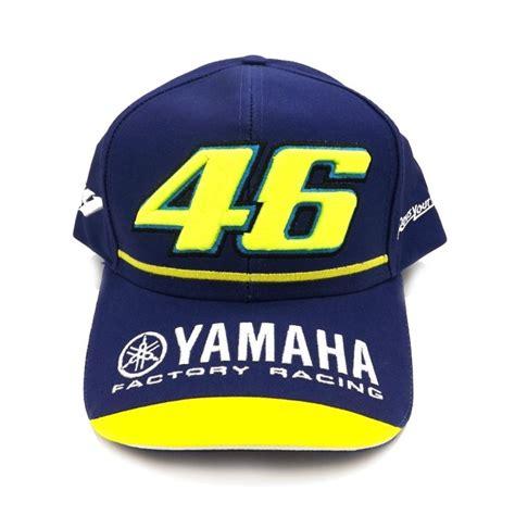 Topi Motogp Vr46 Black Vale valentino yamaha factory racing team motogp cap
