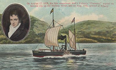 steamboat year invented robert fulton thinglink