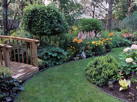 Pretty Backyard Ideas by Beautiful Backyard With Grassy Pathways Around Smaller