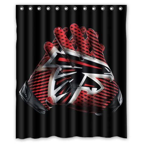 atlanta falcons home decor atlanta falcons custom shower curtain home decor bathroom