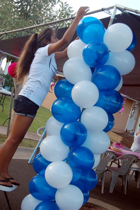 How To Make Balloon Decorations by Balloon Columns Decorations Sweet Designs